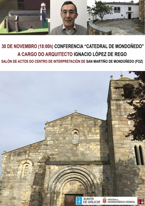 Conference of the architect Ignacio López de Rego in San Martiño de Mondoñedo (Foz)