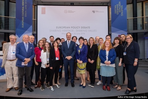 "European Cultural Heritage Summit ""Sharing Heritage, Sharing Values"""