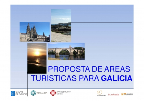 Study of Touristic Areas in Galicia