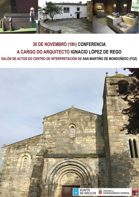 Conference of the Dean of the Cathedral of Santiago, D. Segundo Pérez, in San Martiño de Mondoñedo (Foz)