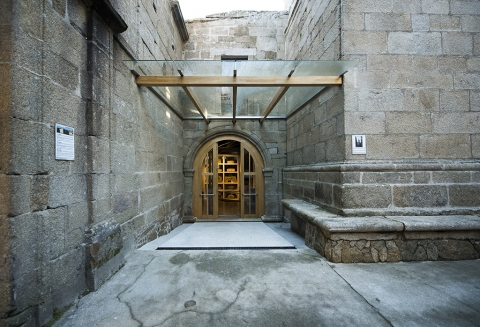 Completion of the refurbishment works of the Cabildo for Interpretation Hall of the Monastery of Santa Catalina de Montefaro in Ares (A Coruña)