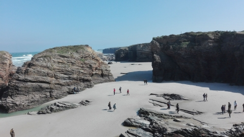Special Protection Plan for As Catedrais Beach