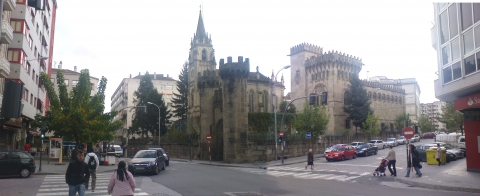 Restoration and Adaptation of the Setting of the Santo Anxo Building. Ourense.
