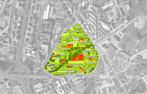 PRELIMINARY STUDY FOR AN INTEGRATED RESTORATION AREA IN THE BARRIO DE LAS FLORES NEIGHBOURHOOD (GLOBAL PLAN OF URBAN RENEWAL AND REGENERATION)
