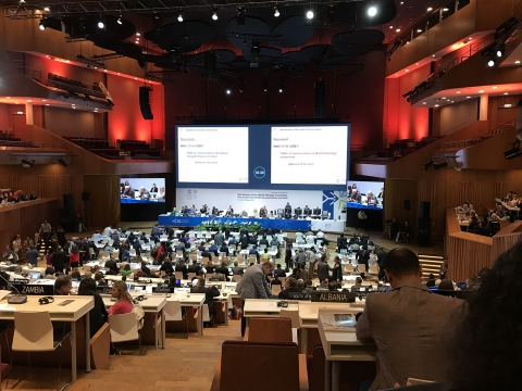 Session of the World Heritage Committee. Krakow.Poland
